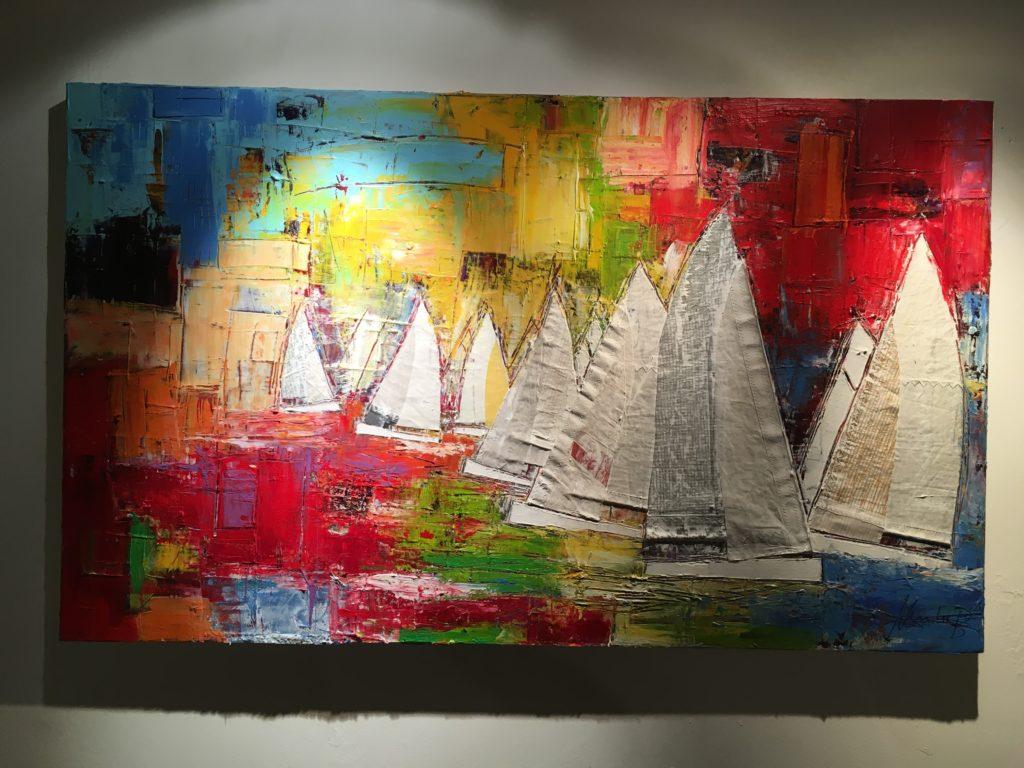 """Multi Color"" von Heinke Böhnert,Original 150x90cm,Acryl auf Leinwand"