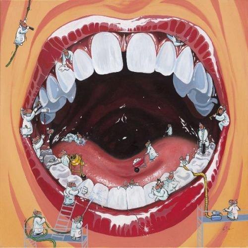 Zahnbaustelle